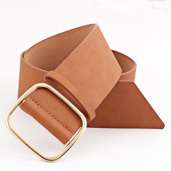 200PCS / LOT 2018 vestito da donna di alta qualità cintura in pelle PU fibbia in metallo con cinturino in vita da donna cinturino in fascione
