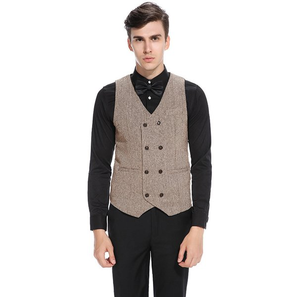 Men Wedding Vest England Style Suits Vest Men 54