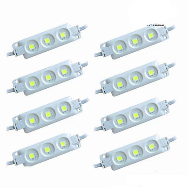 LED ışık modülü, su geçirmez superbright SMD5630 LED ışık modülü, Soğuk Beyaz / Sıcak Beyaz / Kırmızı / Sarı / Mavi / Yeşil, DC12