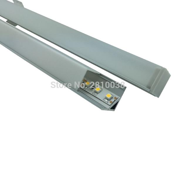 Großhandel 10 X0.5M Sets / Right Angled LED Leiste Profil Und Eloxiertes  Silber Profilleisten Aluminium Für Küche Oder Kabinett Lichter Von Butao,  ...