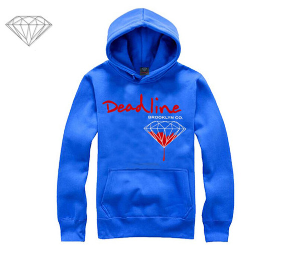 Diamond Supply hoodie for men free shipping diamonds hoodies hip hop brand new 2018 sweatshirt men's clothes pullover M8