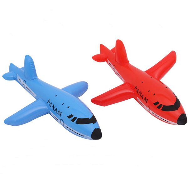 New Inflatable Aircraft Cartoon Plane Airliner PVC Plastic Balloons Planes Toys Ballon Kid Swimming Birthday Gift Classic Toys