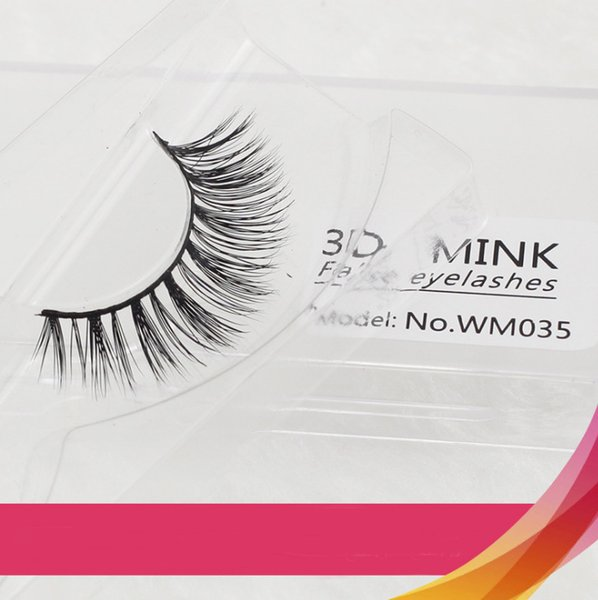 Luxury 1 pairs Mink thick false eyelashes black long 3d mink Hair eyelashes extension professional Fake lashes makeup Kit Euro Eye makeup