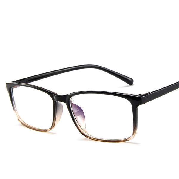 2388d8aceb9 Round Sunglasses Retro Metal Frame Eyeglasses Korean Clear Lens Glasses  Male Female Optical Circle Plain Mirror