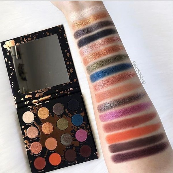 16 COLORS shayla x colourpop PERCEPTION eye shadow palette free shipping cosmetics style Brighten & beauty your eyes