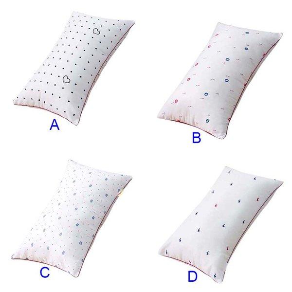 Pretty Pillow Fibra viscosa Cuidado del cuello Salud del sueño Cómodo Protección de impresión Cervical HG99