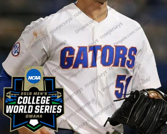 White with 2018 CWS Patch