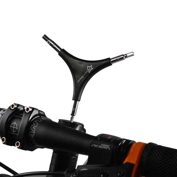 Wholesale Bike Repair Tools Bike Triangle Spanner Bicycle Triangle Spoke Wrench Cycle Repair Tools 4MM 5MM 6MM Allen Key Hand Tools
