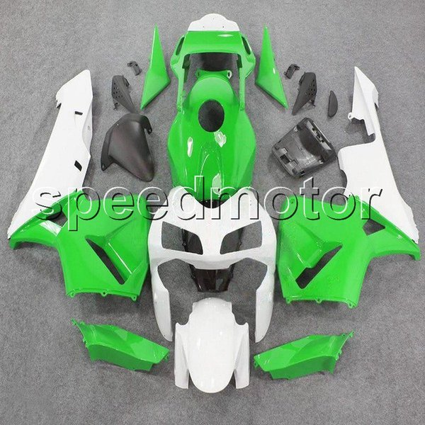 colors+Gifts Injection mold green white F5 03 04 CBR600 RR bodywork motorcycle cowl Fairing for HONDA CBR600RR 2003 2004 ABS plastic kit