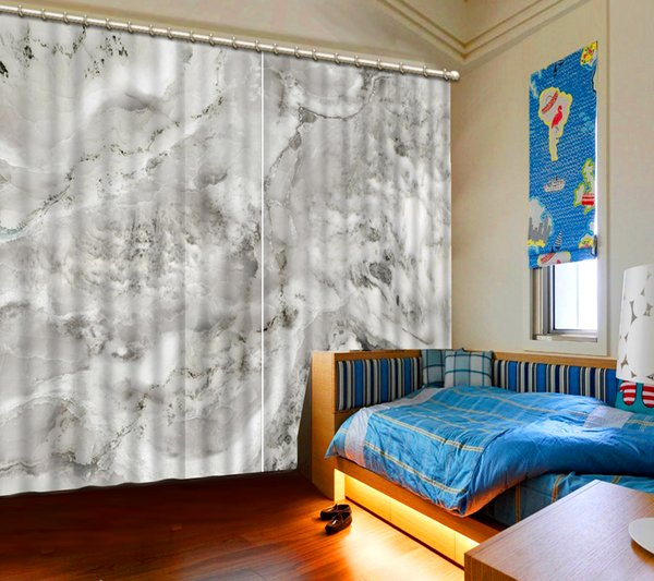 2019 European Curtains Window Decoration Marble Simple Curtain Living Room  Curtains Kids Bedroom From Yiwu2017, $200.0 | DHgate.Com