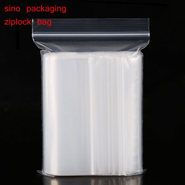 Extra Heavy-Duty Various Sizes Reclosable Plastic Packaging Bags Zip Lock Poly bags Zipper Clear Ziplock bags(pack of 100)