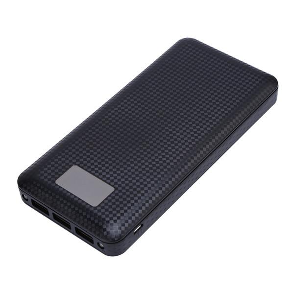 (No Battery) 7x18650 DIY Portable Battery Power Bank Shell Case Box Digital LCD Display Dual USB Powerbank Protector Case Cover