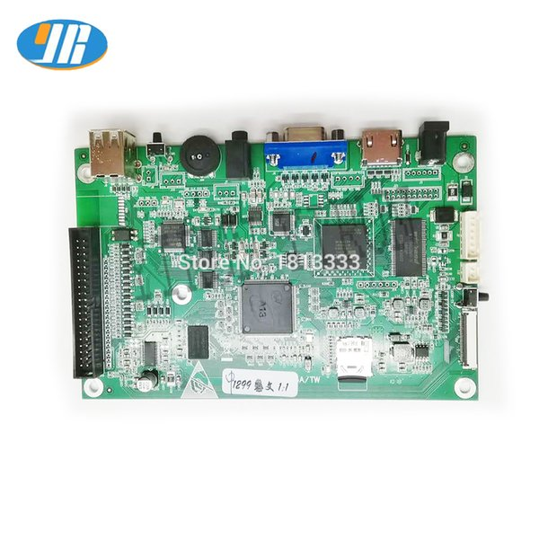 2 Players Arcade Game Console 1299 In 1 Arcade Game PCB Board With Wiring harness HDMI/VGA For TV LCD USB To PC PS3