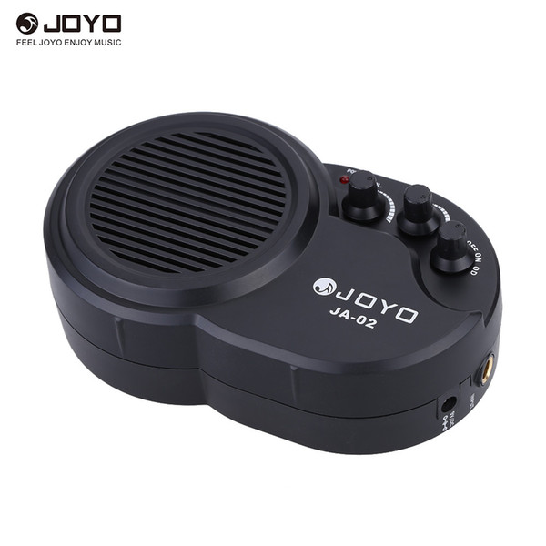 JOYO JA-02 3W Mini Electric Guitar Amp Amplifier Speaker with Volume Tone Distortion Control