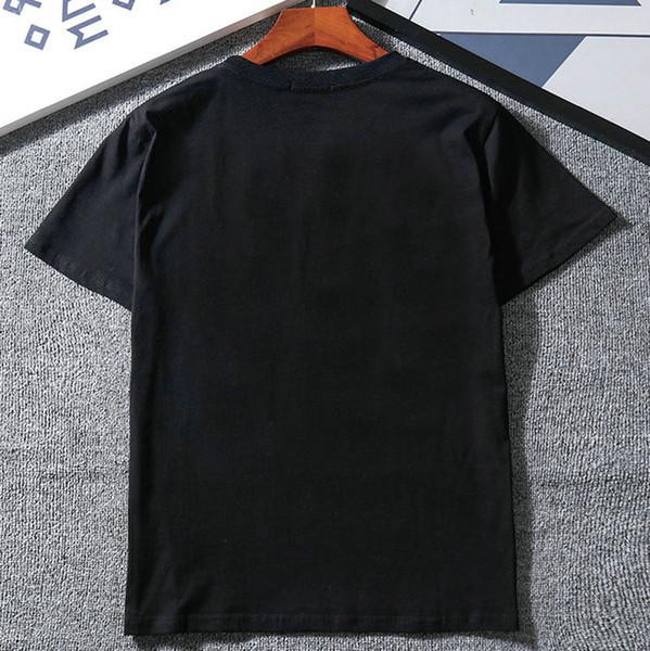 Marca de moda para hombre Diseñador de camisetas Sentido común Primavera Verano rojo raya verde carta de impresión camiseta de las mujeres Camiseta Casual Top camisa