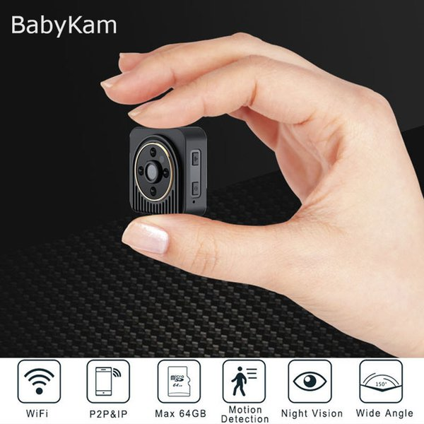 HD 720P WiFi IP Cam Wearable Mini DV Action Camera Motion Sensor Bike Body Camera with Magnetic Clip Micro Video Cam