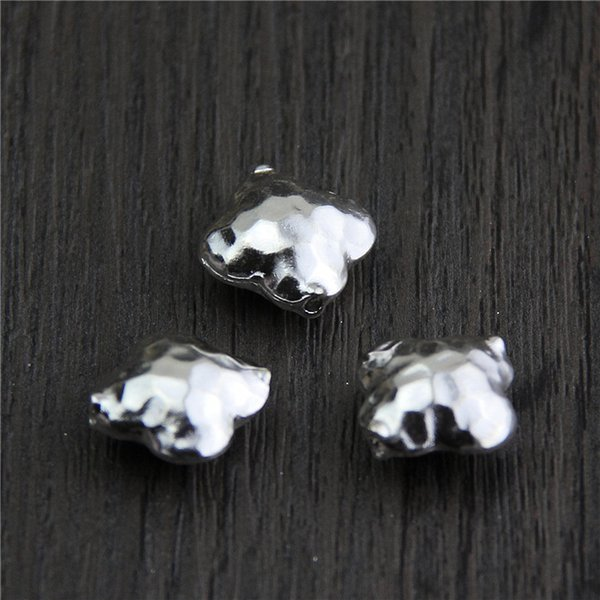 designer jewelry fashion 925 sterling silver charms beads accessories handmade Diy bracelet clover beads flower wholesale china direct