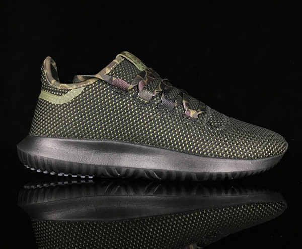 lowest price b27ac afd0e 2017 2018 Tubular Shadow Knit 350 Sneaker Men Running Fashion Sport Shoes  Olive Green Camo Sports Boots With Box From Esoccer, $70.36 | Dhgate.Com