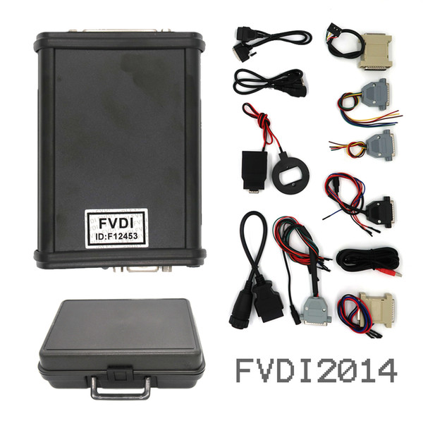 V2014 FVDI Full Version (Compreso il software 18) FVDI ABRITES Commander FVDI Scanner diagnostico strumento in stock DHL GRATIS