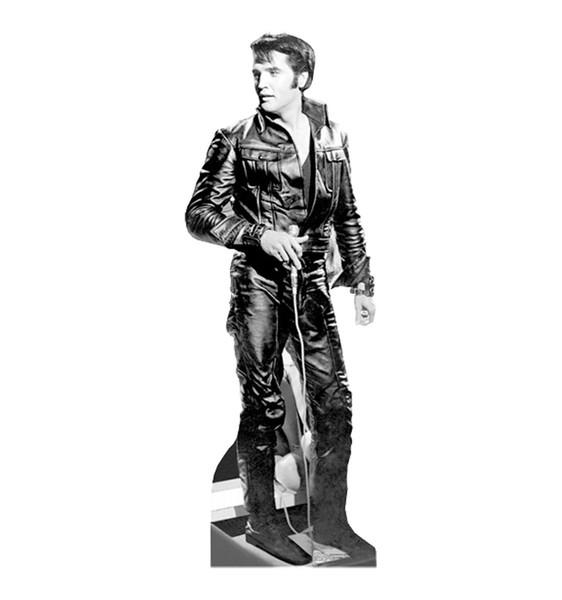 Elvis Presley 68 Spécial Lifesize Carton Découpe Parti Décoration Décor de Bande Dessinée t-shirt hommes Unisexe Nouveau De La Mode t-shirt