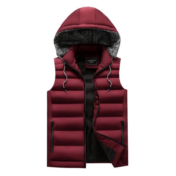 men's casual clothing fashion down jackets men leisure dress vests winter warm elegant korean streetwear trend coat vest for men