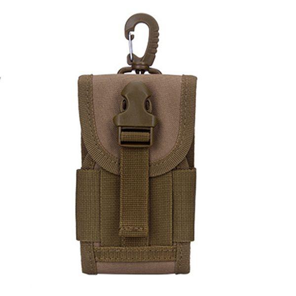 High Quality Men Nylon Cell/Mobile Phone Case Belt Hook Bags Pouch Military Assault Molle Male Hip Bum Fanny Waist Pack Bag