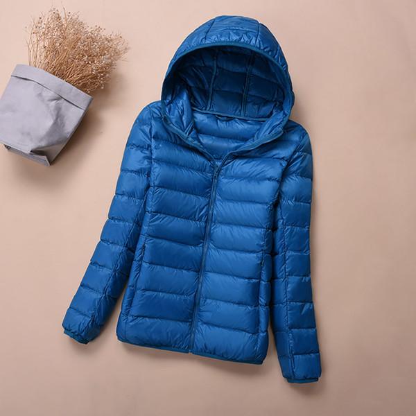 Großhandel Plus Größe 4XL 5XL 6XL Winter Daunenjacke Frauen Eiderdaunen Outwear Winter Warme Mantel Ultraleicht Weiße Ente Daunenmantel Weibliche