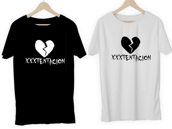 Compre XXXTENTACION Camisetas O Bricolaje Vinilo RAPPER HIP HOP TUMBLR SAD  RIP RAP MUSIC ART Camisetas Personalizadas Con Cuello Redondo Juvenil Top  ... cf3ea43499b