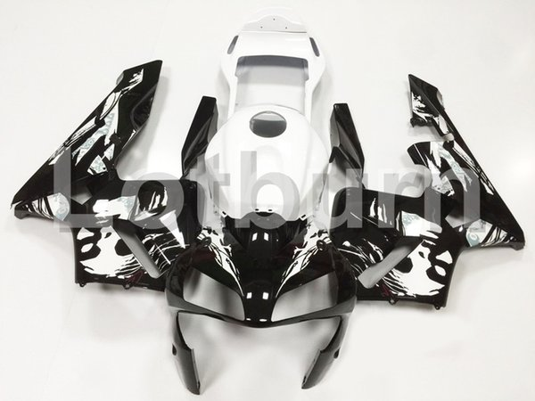 Custom Made Motorcycle Fairing Kit Fit For Honda CBR600RR CBR600 CBR 600 2003 2004 03 04 F5 ABS Fairings fairing-kit Injection Molding