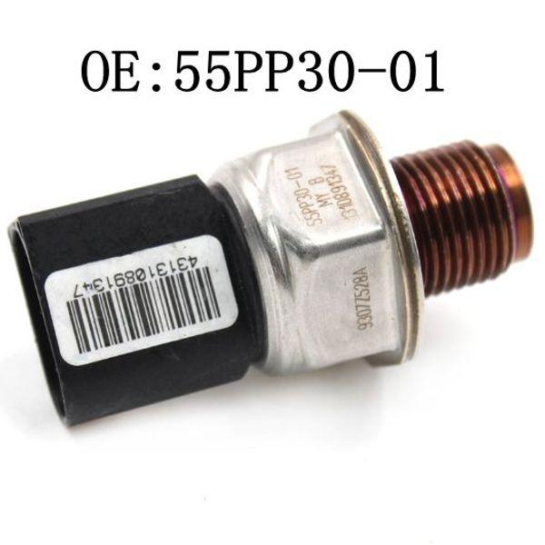 2pcs NUEVO 55PP30-01 9307Z528A 1215691369 riel de combustible del sensor del regulador de presión para Chevrolet Cruze para Hyundai I30 1,4 partes CDI Auto