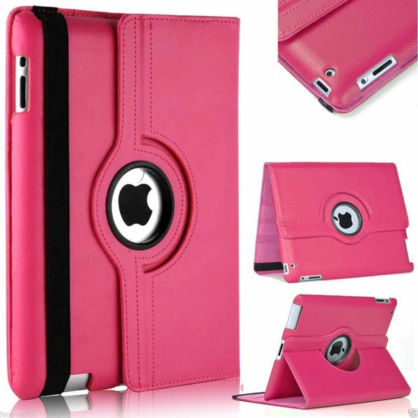 360 Degree Rotating Stand Smart Case Cover for Ipad air mini 2 3 4 Pro 9.7 10.5 Samsung galaxy tab pc