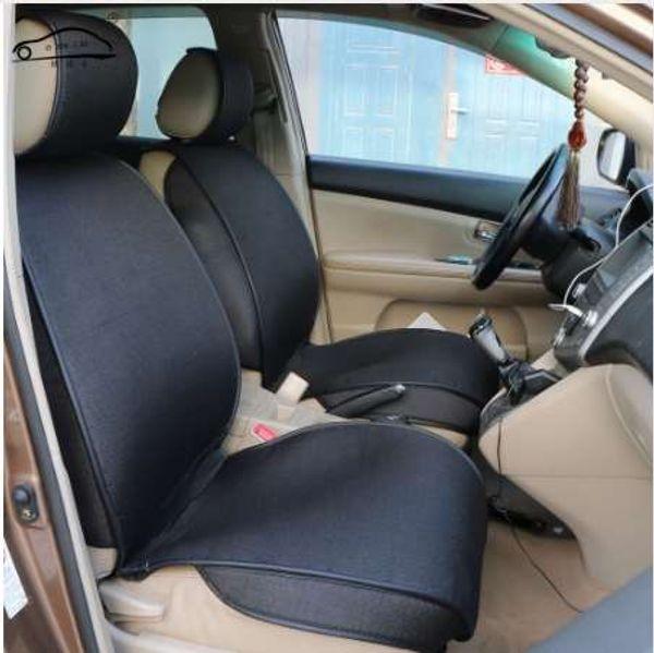 1 stück universal Künstliche leinenabdeckungen für autositze / 3-D einfassung Vorder auto sitzbezüge Für Kia Rio Lada Hyundai Solaris