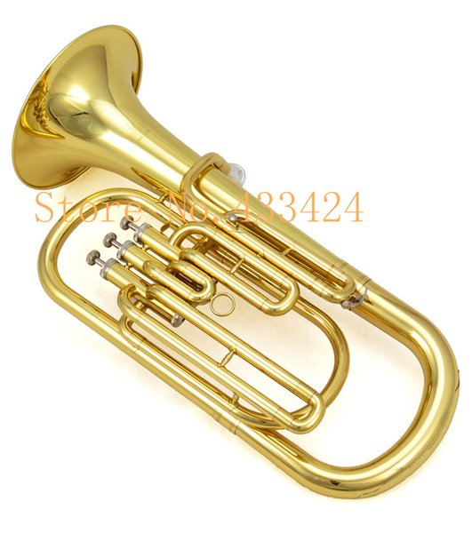 Оригинал JinBao Марка профессиональный стенд ключ Jbbr-1220 тенор Bb Вагнер туба настроить латунь музыкальные инструменты труба