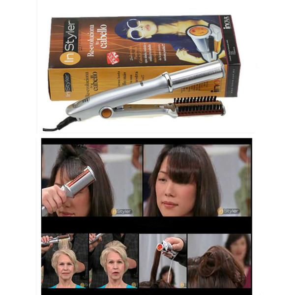 Корабль падения Epack Профессиональный волос Curling Iron Ceramic Тройной Barrel волос бигуди Утюги Wave Вэйвер Стайлинг Инструменты для волос Styler Wand