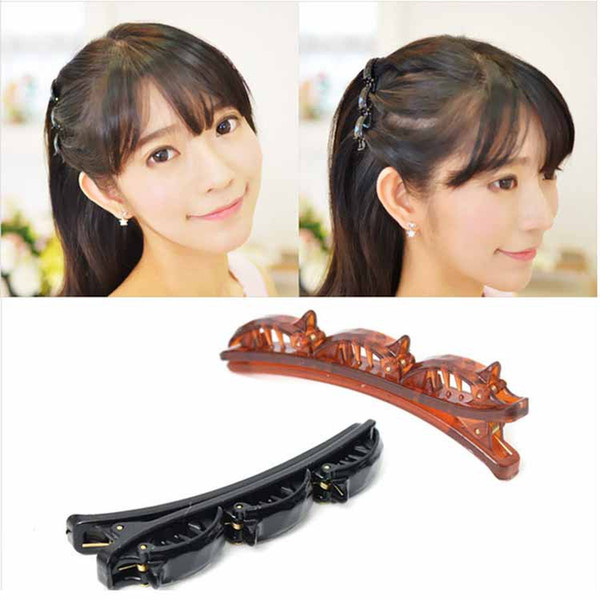 Fashion hairpin Styling Hair Braider Twist Clip Barrette Hair style accessory Duck Clip Hair styling Tool