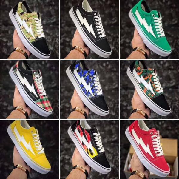 2017 Calabasas Stylist Ian Connors Vendetta X Storm shoes kanye west calabasas Casual Scarpe Uomo Donna bianco-nero Scarpe Taglia: 36-4