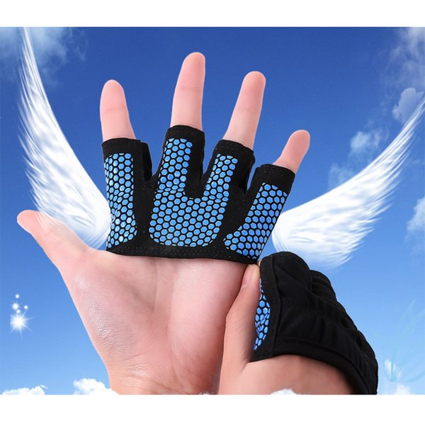 AIBOULLY 4-Finger Gym Gloves Half Finger Palm Protection Fitness Weight Lifting Cycling Sport Glove Y1892612