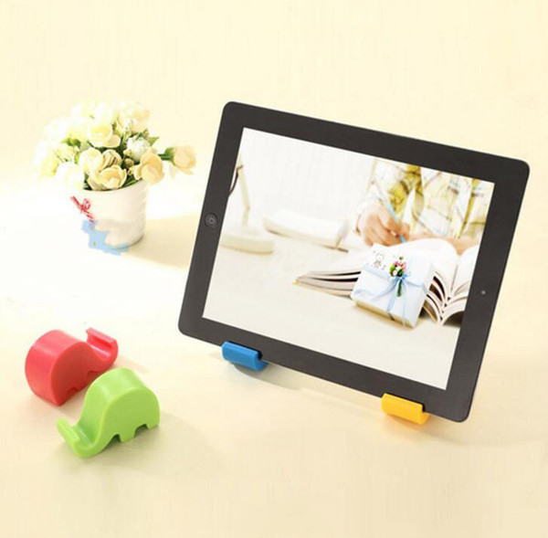 Child Tableware Placement Bracket Elephant Mobile Stand Small Elephant Stand Mini Multicolor Mobile Phone Stand Lazy Mobile Phone Holder