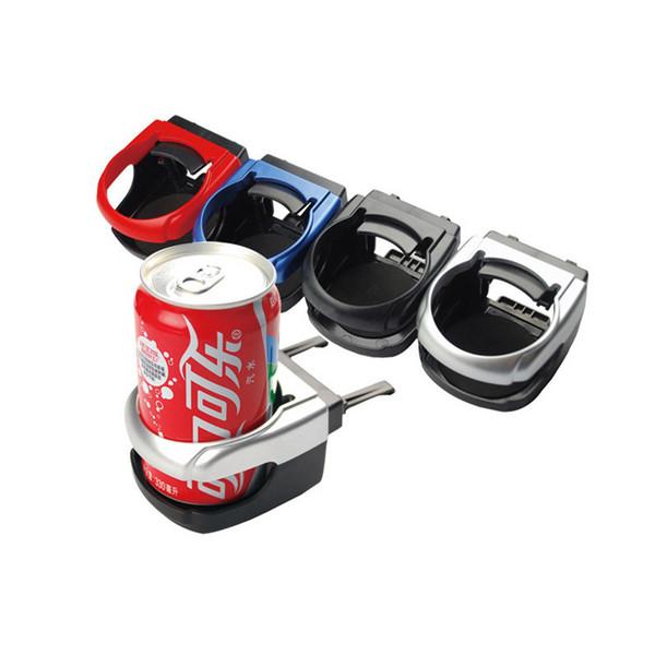 Auto-Auto-LKW-faltender Montierungs-Kaffee-Bier-Multifunktionsgetränk kann Schalen-Flaschen-Halter-Stand-Schwarz / Gray Car Styling