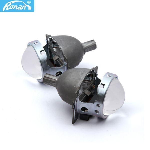RONAN 2PCS 3.0'' Bi-xenon HID Projector Lens for Koito Q5 LHD Universal Fast Install H1 H4 H7 H11 9005 9006 Free Shipping