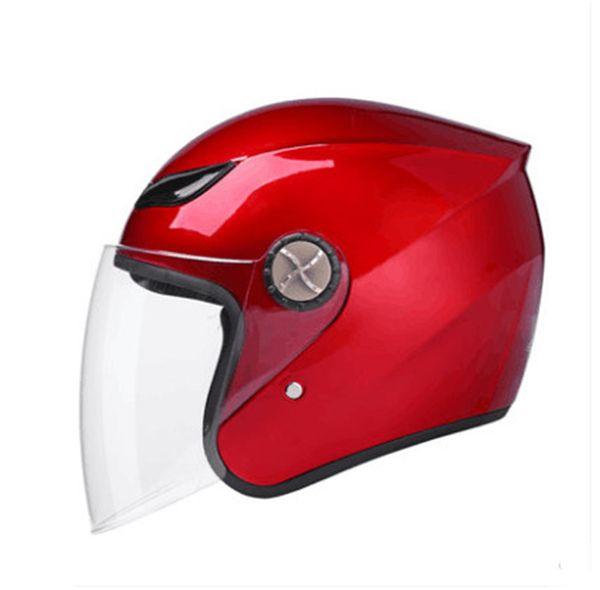 Pink motorcycle helmet 788 model open face helmet DOT approved half Retro moto casco capacete motociclistas capacete