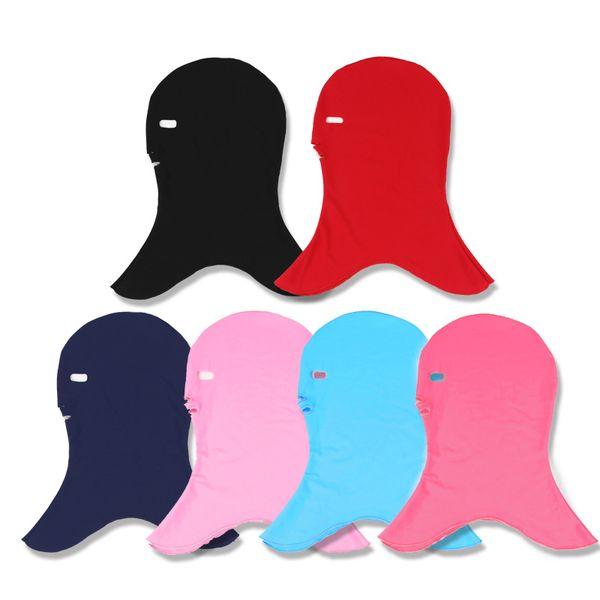 Cappello a tinta unita per prevenire la protezione solare Maschera per meduse Cuffia per ultravioletti Maschile e femminile Scopo traspirante Comfort generale 8fc W