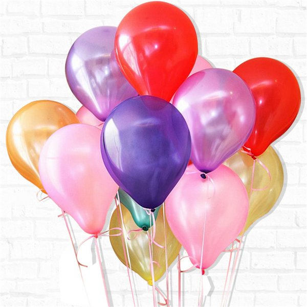 2019 Arty Supplies Balloons Gold Balloons Thick 1 5g Latex Helium Balloon Inflatable Wedding Decorations Air Balls Birthday Party Su From