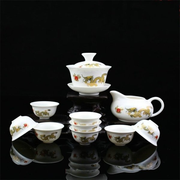 High Quality China Tea Sets Cup Travel Business Gift Flexible Retro Teapot Exquisite Ceramics High Hardness Eco Friendly 18 xf jj