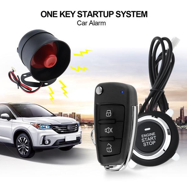Sistema di allarme universale per auto Sistema di arresto di avviamento a distanza con motore con blocco centrale automatico e accesso senza chiave CAL_10H