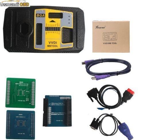Originale Xhorse V4.1.0 VVDI MB BGA Strumento per programmatore chiave Benz Compreso BGA Calculator Per cliente acquistato Xhorse Condor