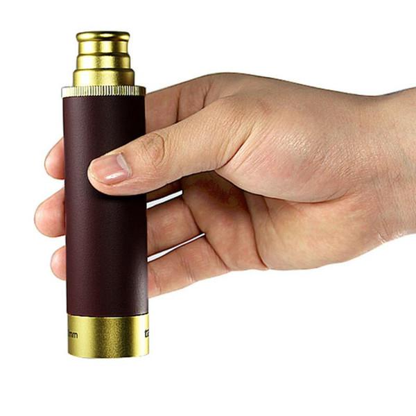 25X30 Métal Monoculaire Portable Télescope Capitaine Monoculaire Jumelles LLL Vision Nocturne de Poche Pirate Télescope Livraison Gratuite