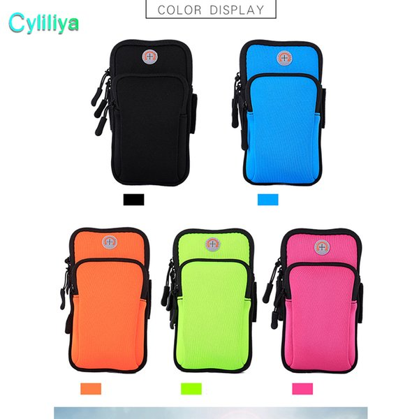 Fashion Gym Running Jogging Sports Wallet Pouch Waterproof Armband Case For Cell Phone Outdoor Arm Bag