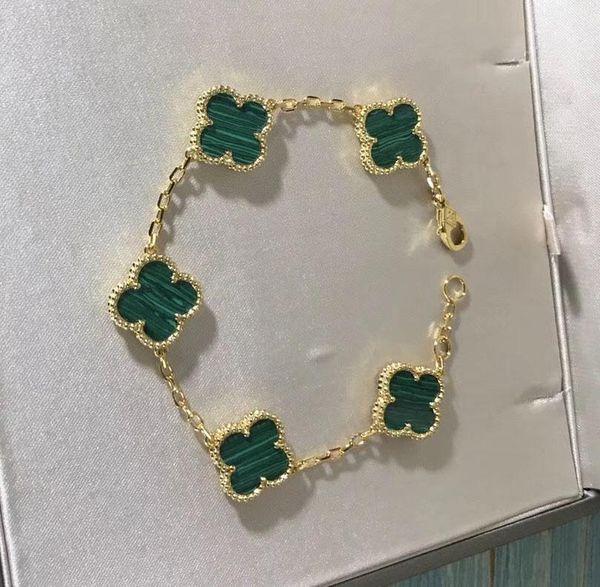 18k gold+green