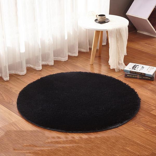 Yoga Living Room Carpet Kids Room Rugs Soft And Fluffy Warm,Black Red Color  Custom Size, Diameter 60,80,100,120,160cm Durkan Carpet Berber Carpet ...